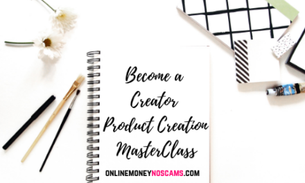 Become a Creator – Product Creation MasterClass