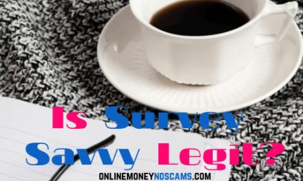 Is Survey Savvy Legit?