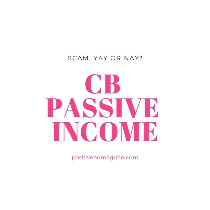 What is the CB Passive Income About?