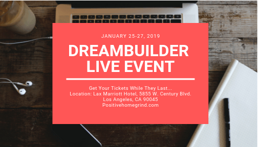 DreamBuilder Live – January 25-27, 2019