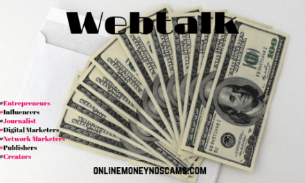 What Is Webtalk? Social Media That Pays You