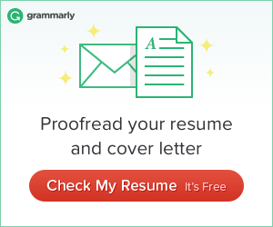Proofread Your Resume And Cover Letter With Grammarly