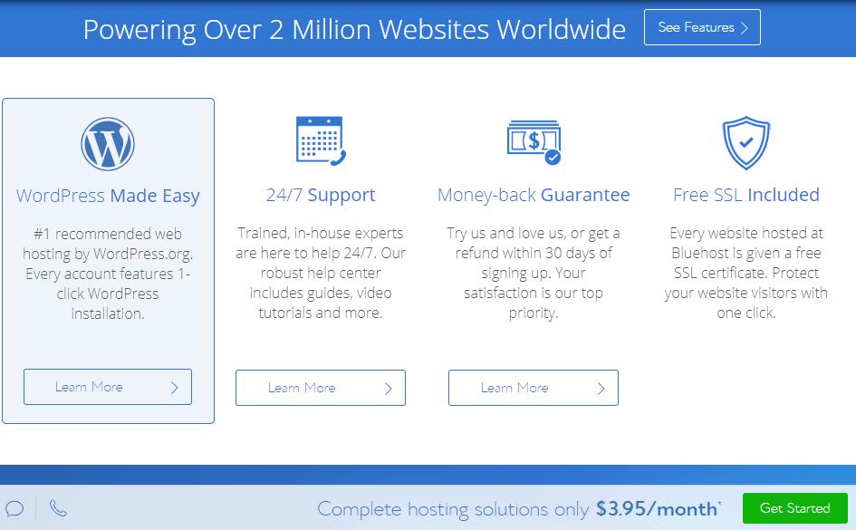 How To Start A Blog On BlueHost? Blogging Platform Powering Over 2 Million Websites