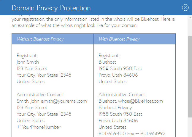 Domain Privacy Protection and How To Start A Blog On BlueHost?