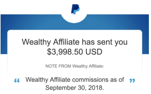 Paypal WA Commission What Is Wealthy Affiliate All About?