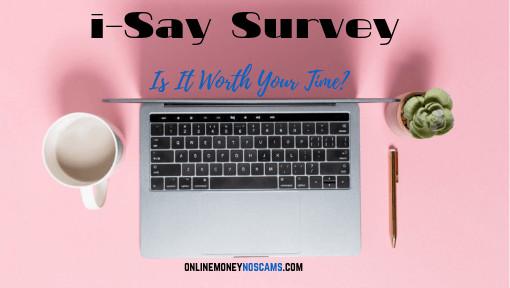 i-Say Survey