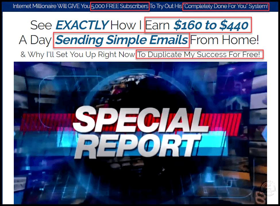 Instant Email Biz News Report