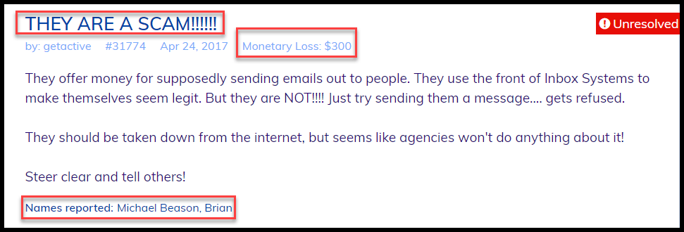 copy My Email System More Complaints