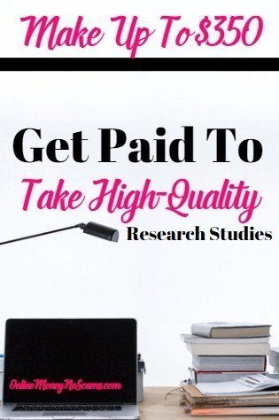 Get Paid To Take High Quality Research Studies