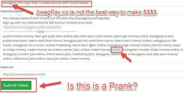 SwaPay.co Must Think This Is A Prank