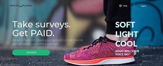 Take Surveys Get Paid With Survey Junkie