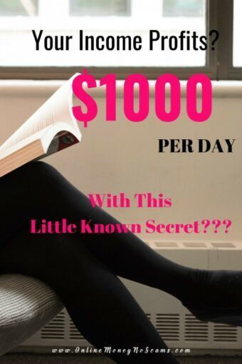 Your Income Profits 1000 Per Day Using A Little Known Secret