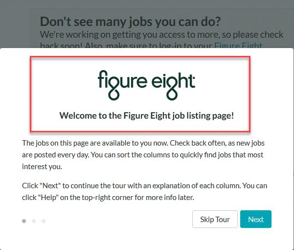 Swagbucks Job Task Figure Eight