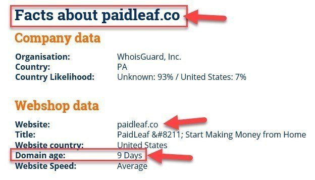 Facts About Paidleaf.co