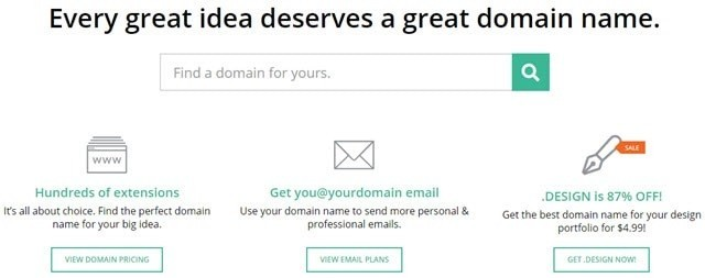 Every Design Deserves A Great Domain Name