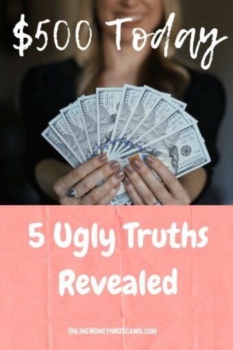 EarnBucks 500 Today Ugly Truth Revealed